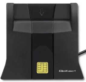 Qoltec Smart Chip ID Card Scanner 50643