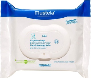 Mustela Facial Cleansing Wipes 25pcs