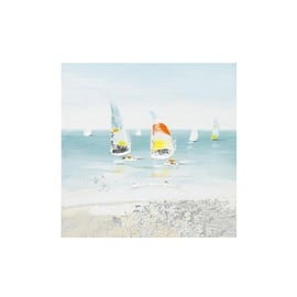 Home4you Print Picture 30x30cm Sailing Boat 7734