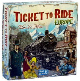 Stalo žaidimas Kadabra, Ticket to Ride Europa