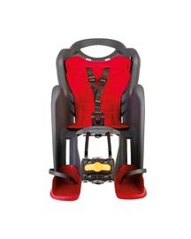 Vaikiška dviračio kėdutė Bellelli Mr Foxstandard Multifix MULTIFIX01FXS00002, raudona, galinė
