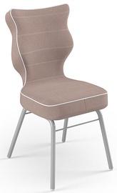 Детский стул Entelo Solo Size 4 JS08, серый/кремовый, 340 мм x 775 мм