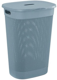 KIS Filo Laundry Hamper With Lid 55l Grey