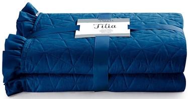 Gultas pārklājs AmeliaHome Tilia Blue, 260x280 cm
