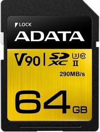 ADATA Premier One 64GB SDXC UHS-II U3 Class 10