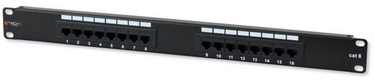 Techly Cat. 6 16 x RJ-45 Patch Panel