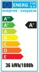 Лампа люминесцентная Spectrum T8, 36W, G13, 3000K, 3350lm