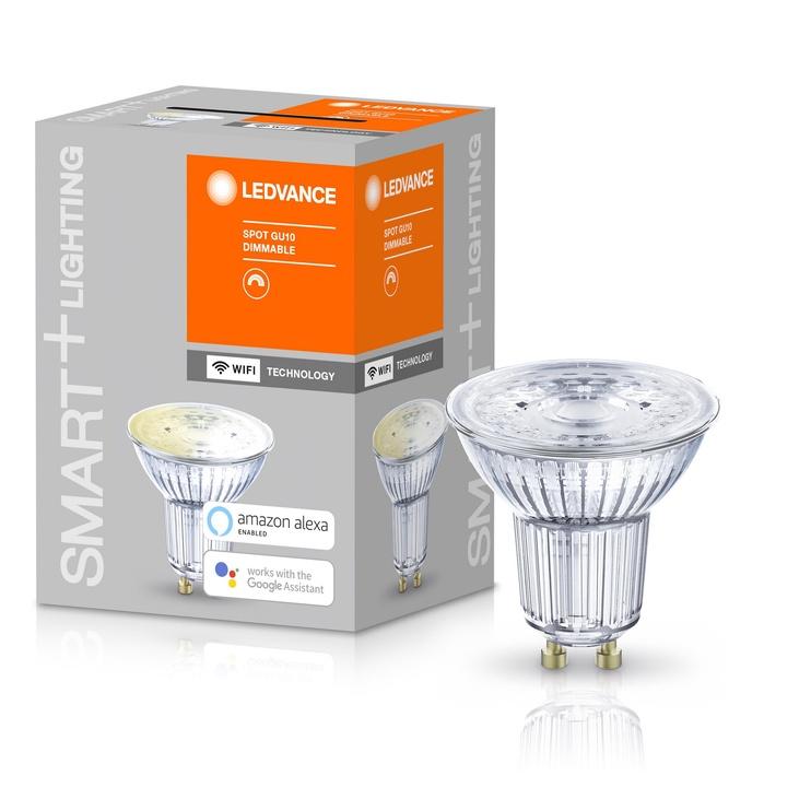 Viedā spuldze Ledvance LED, GU10, PAR16, 5 W, 350 lm, 2700 °K, silti balta, 1 gab.