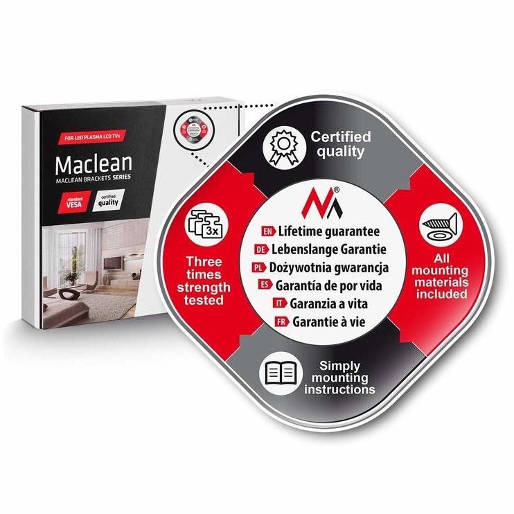 Televizoriaus laikiklis Maclean MC-784 LCD Holder