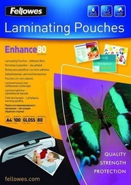 Fellowes Laminating Pouches Enhance 80 A4 100pcs