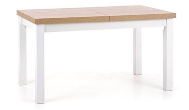 Pusdienu galds Halmar Tiaga 2 Sonoma Oak/White, 1400x800x760 mm