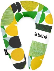 La Bebe Cotton Nursing Maternity Pillow Rich Green And yellow