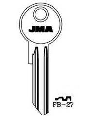 Raktų ruošinys Jma FB-27, 1 vnt.