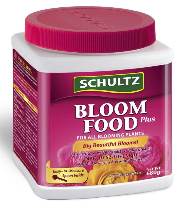 Trąšos sausosios žydintiems augalams Schultz, 680 g