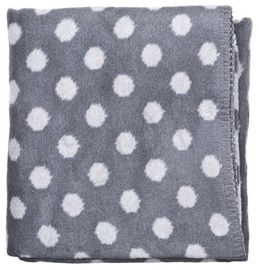 Womar Baby Blanket With Dots 75x100cm Grey