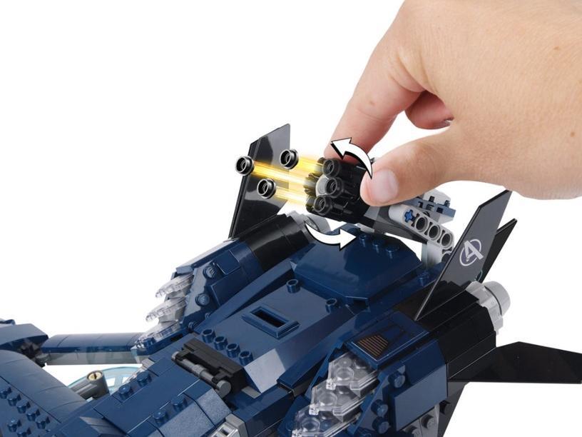 Конструктор LEGO Super Heroes Avengers Ultimate Quinjet 76126 76126, 838 шт.