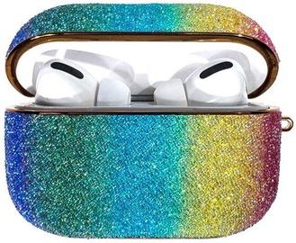 Kingxbar Rainbow Shiny Glitter Case For Apple AirPods Pro Multicolour