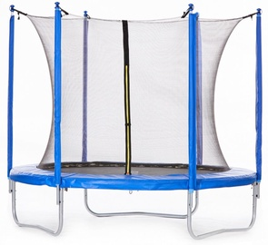 Tesoro Trampoline 252cm Net/Ladder Blue/Black