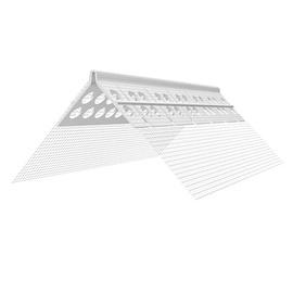PVC ARKAS stūra profils 10x15cm, 2,5m