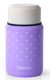 Fissman Vacuum Food Jar 500ml Purple