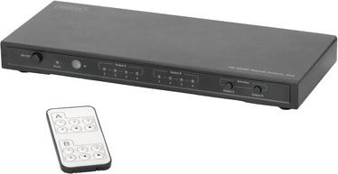 Videosignaali jagaja (Splitter) Digitus DS-50304 HDMI Matrix Switch 4x 2 Port with Audio Extractor