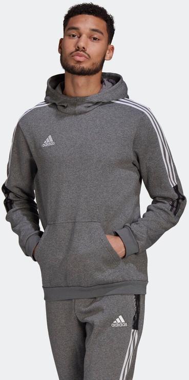 Adidas Tiro 21 Sweat Hoodie GP8805 Grey 2XL