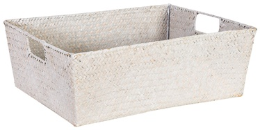 Home4you Basket Petra 3 34x25x14cm White