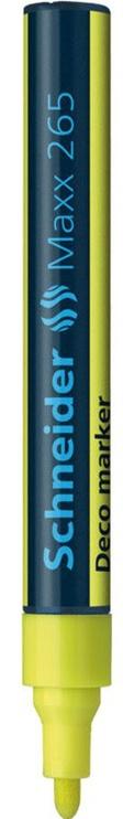 Schneider Pen Maxx 265 Liquid Chalk Marker Yellow 126505