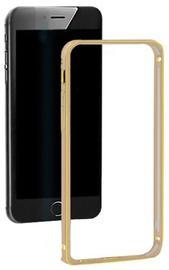 Qoltec Aluminum Bumper For Apple iPhone 5/5s Gold
