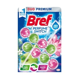 Tualeto muiliukas Bref Floral Apple - Water Lily, 2 x 50 g