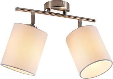 Nino Rondo Spotlight Ceiling Lamp 2x40W E14 Nickel