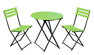 Home4you Flip Garden Furniture Kit Green/Black