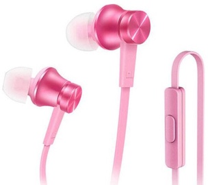 Ausinės Xiaomi Mi Universal Headsets With Remote Microphone Pink