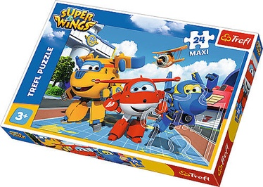 Pusle Trefl Maxi Super Wings Happy Planes 14252, 24 tk