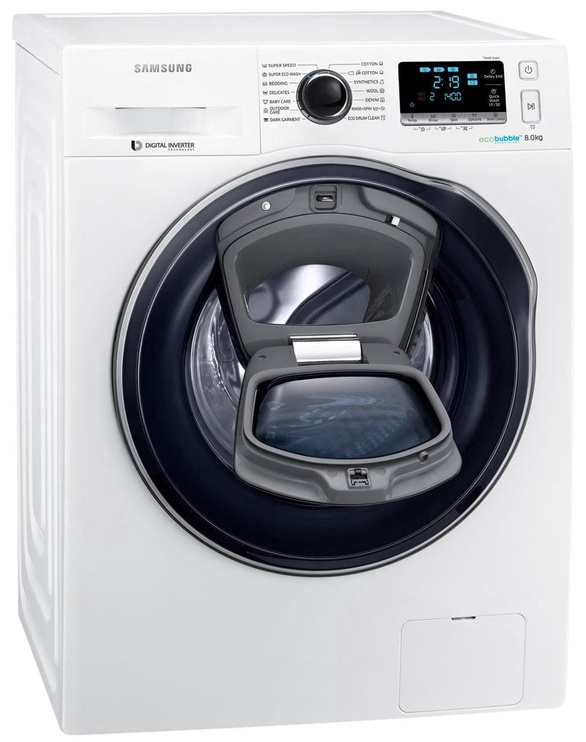 Skalbimo mašina Samsung WW80K6414QW/LE