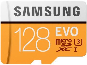 Samsung EVO (2017 Model) 128GB microSDXS UHS-I Class 10 + Adatper