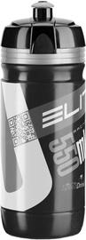 Велосипедная фляжка Elite Corsa 550 ml Black & White