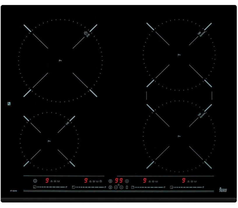 Kaitlentė Teka IZ 6420 Black