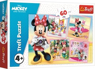 Puzle Trefl Mickey And Friends, 60 gab.