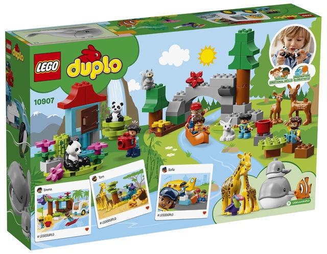 Конструктор LEGO Duplo World Animals 10907 10907, 121 шт.