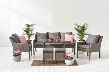 Sodo baldų komplektas Domoletti Family Lounge