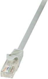 LogiLink Patch Cable Cat.6 U/UTP 5m Grey 10pcs