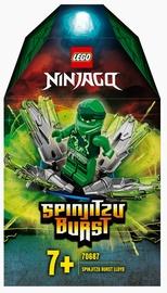Конструктор LEGO®Ninjago Шквал Кружитцу — Ллойд 70687
