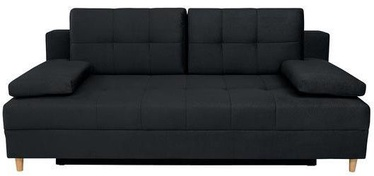 Black Red White Sofa Montila Black