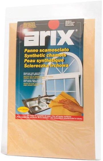Arix Synthetic Chamois Multi-Purpose Cloth Yellow 360x270mm