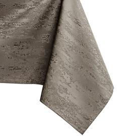 Скатерть AmeliaHome Vesta, коричневый/серый, 3500 мм x 1400 мм