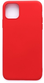 Evelatus Soft Silicone Back Case For Apple iPhone 11 Pro Max Red