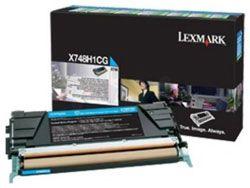 Lazerinio spausdintuvo kasetė Lexmark X748H3CG CYAN