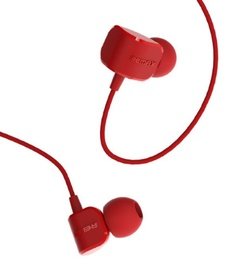 Ausinės Remax RM-502 Comfort Shape Headset Mic/Answer Call Red