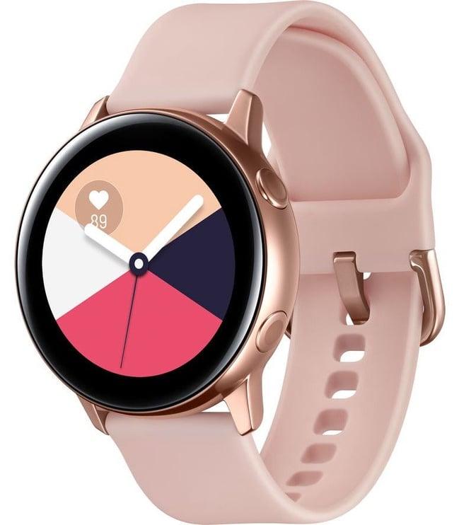 Išmanusis laikrodis Samsung Galaxy Watch Active, aukso